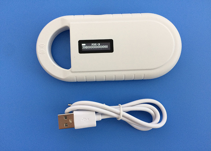 LF 134.2khz Animal RFID Microchip Scanner Handheld With Lithium Battery